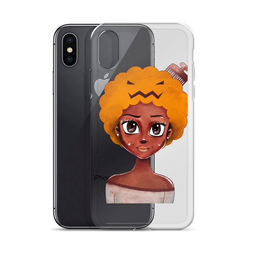 Natural-Hair-Halloween iPhone Case