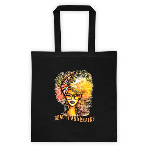 Natural Beauty And Brains Tote bag