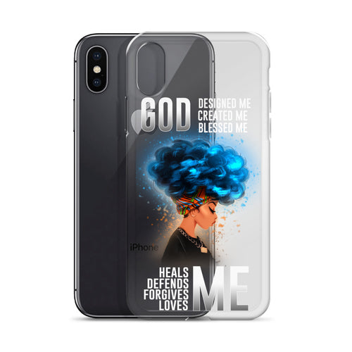 GOD - ME Headwraps Beautiful iPhone Case