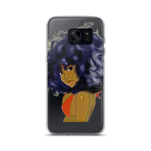 Curly Lady Samsung Case