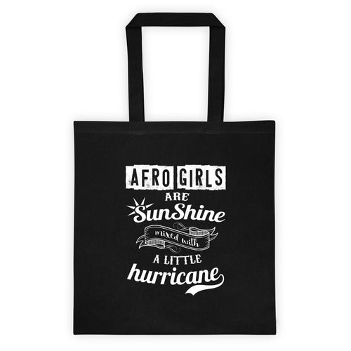 Afro Girls Are Sunshine Tote bag