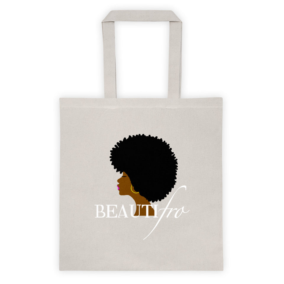 Afro Natural Hair beautiful Tote bag