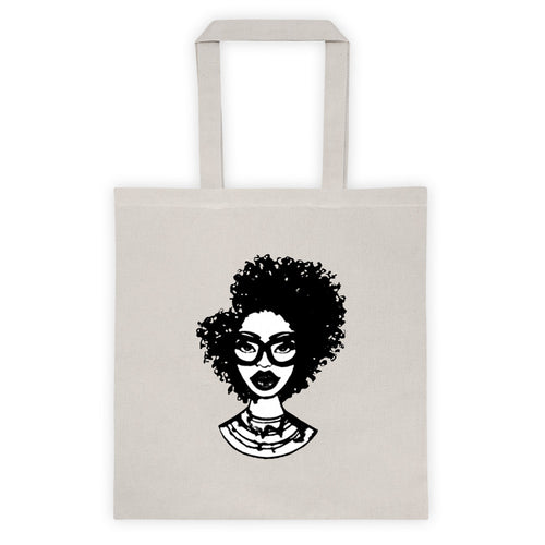 Afro Natural Hair-Kinky Tote bag