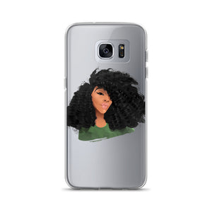 Afro Natural Hair-CurlsSamsung Case