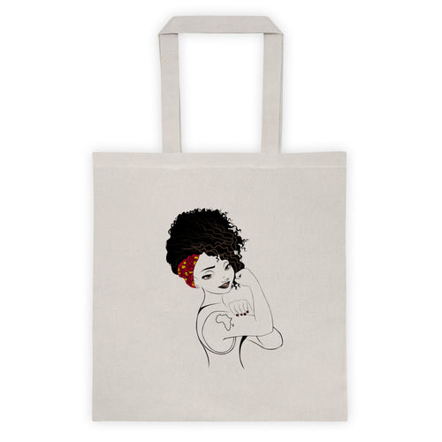 Afica Strong - Black Girl Magic Tote bag