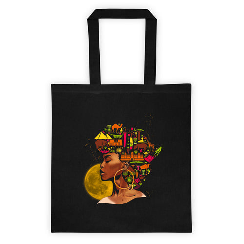 African women Black Month History Tote bag