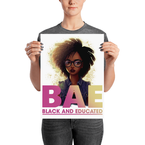 Black And Educate-BAE Poster