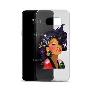 Afro Natural Hair Love Samsung Case