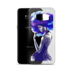 Afro Girl Are Beautiful And Magic Samsung Case