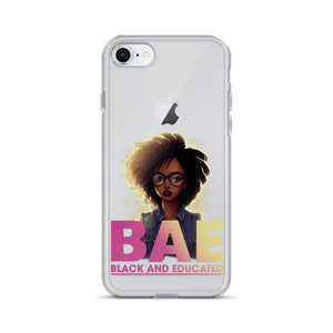 Black And Educate-BAE iPhone Case