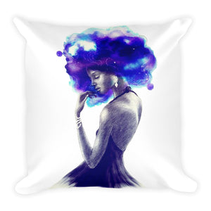Girl Are Beautiful And Magic Square Pillow
