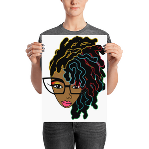 New Locs Natural Hair Poster