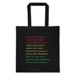 Deam Like Martin Tote bag