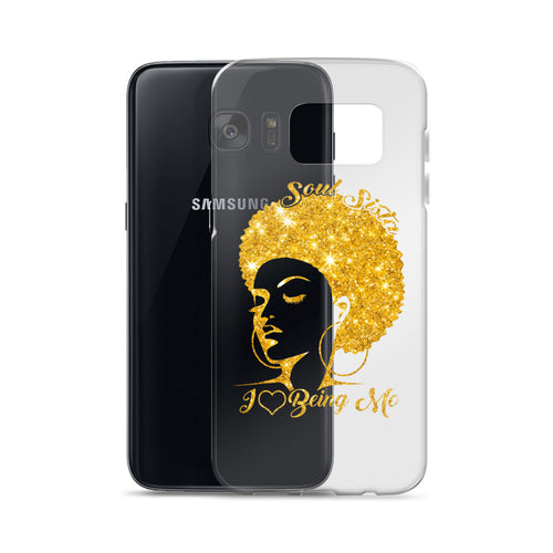 Soul Sista Love Hair Samsung Case