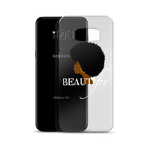 Afro Natural Hair beautiful Samsung Case