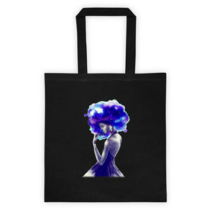 Afro natural girl are strong Tote bag