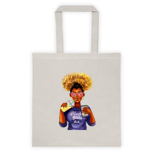 Afro Black Girls Rock Tote bag