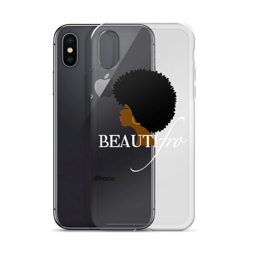Afro Natural Hair beautiful iPhone Case