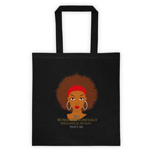 Afro Natural Hair-Phenomenally Tote bag