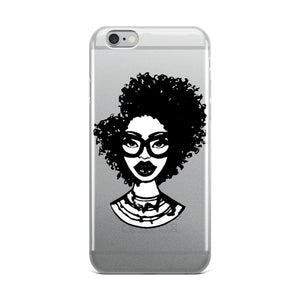 Afro Natural Hair-Kinky iPhone Case