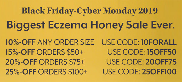 The Best Eczema Honey Sale Ever