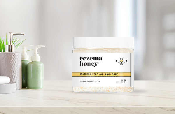 Introducing: Eczema Honey Soothing Foot and Hand Soak