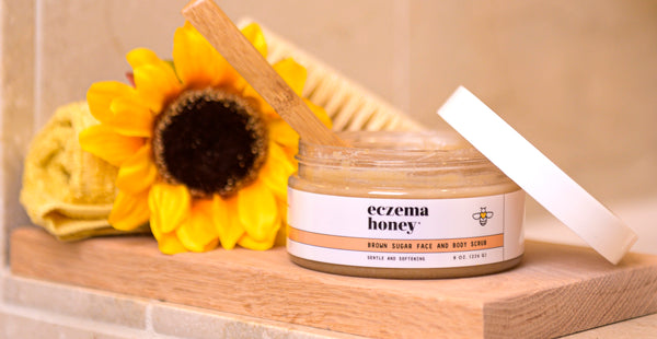 Introducing the Eczema Honey Brown Sugar Face & Body Scrub