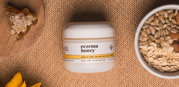 New Eczema Honey Products: Gentle Cleansing Konjac Sponge, Mommy and Baby Balm, and Baby Care Bundle!