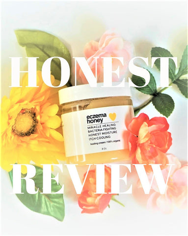 An honest review about an eczema honey healing cream product