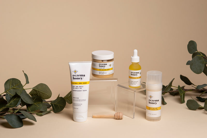 Eczema Honey Day-Night Skin Nutrition Set [Holiday]