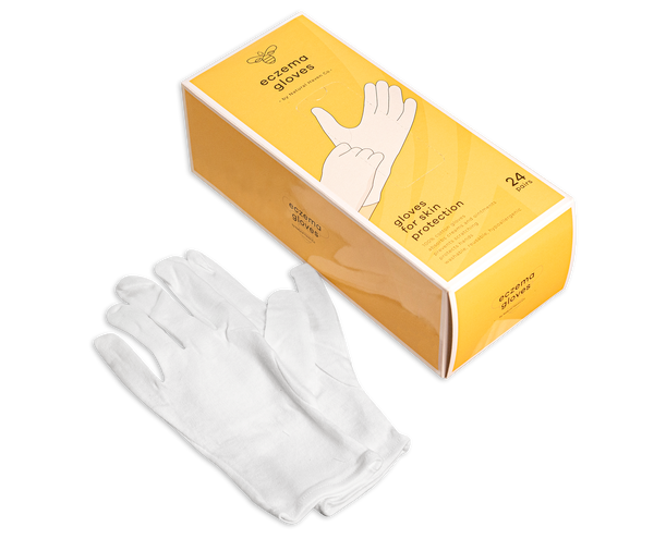 Eczema Honey Premium Cotton Gloves (24 Pairs)