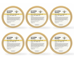 Eczema Honey Gentle Oatmeal and Lavender Soap, Set of 6