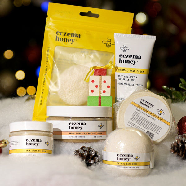 2019 Eczema Honey Holiday Gift Bundle Set