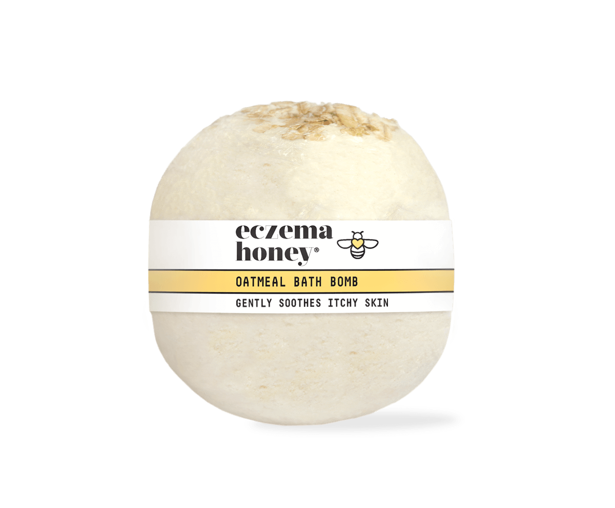 Eczema Honey Oatmeal Bath Bomb