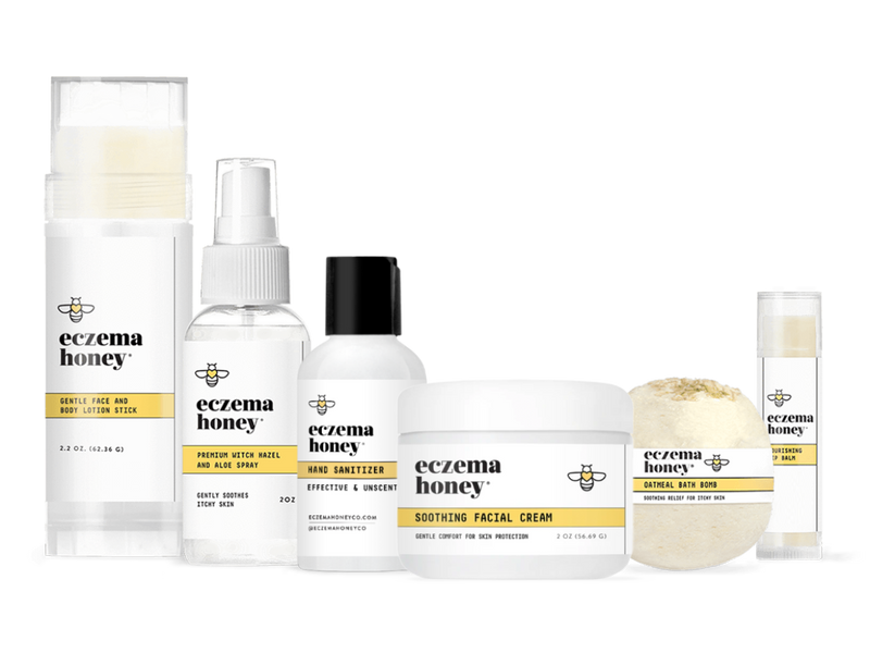 Eczema Honey On-the-Go Travel Bundle
