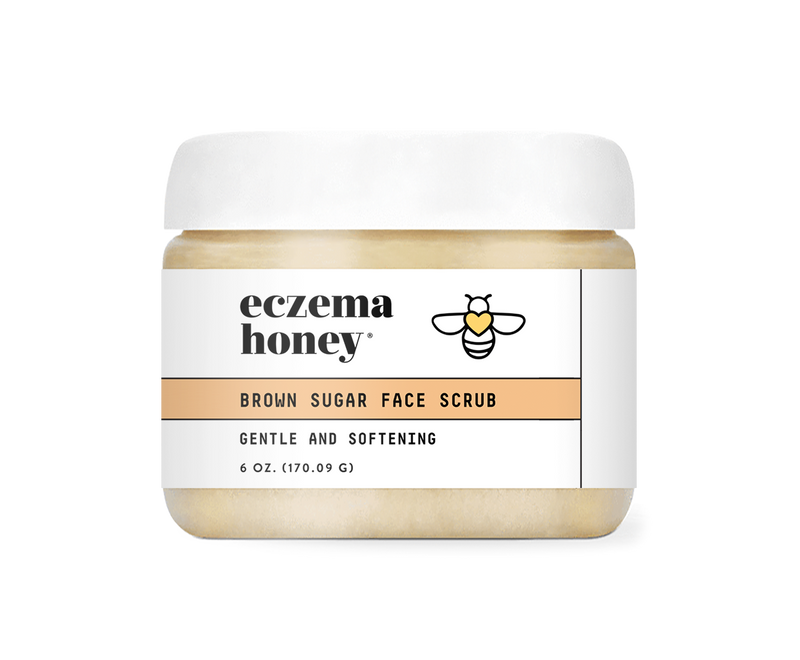 Eczema Honey Brown Sugar Face & Body Scrub