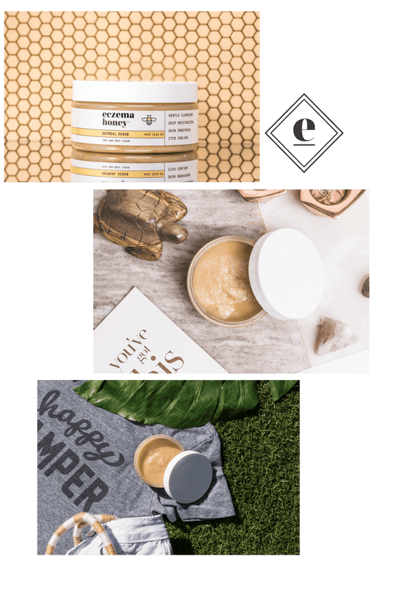 Eczema Honey Premium Oatmeal Scrub Subscription