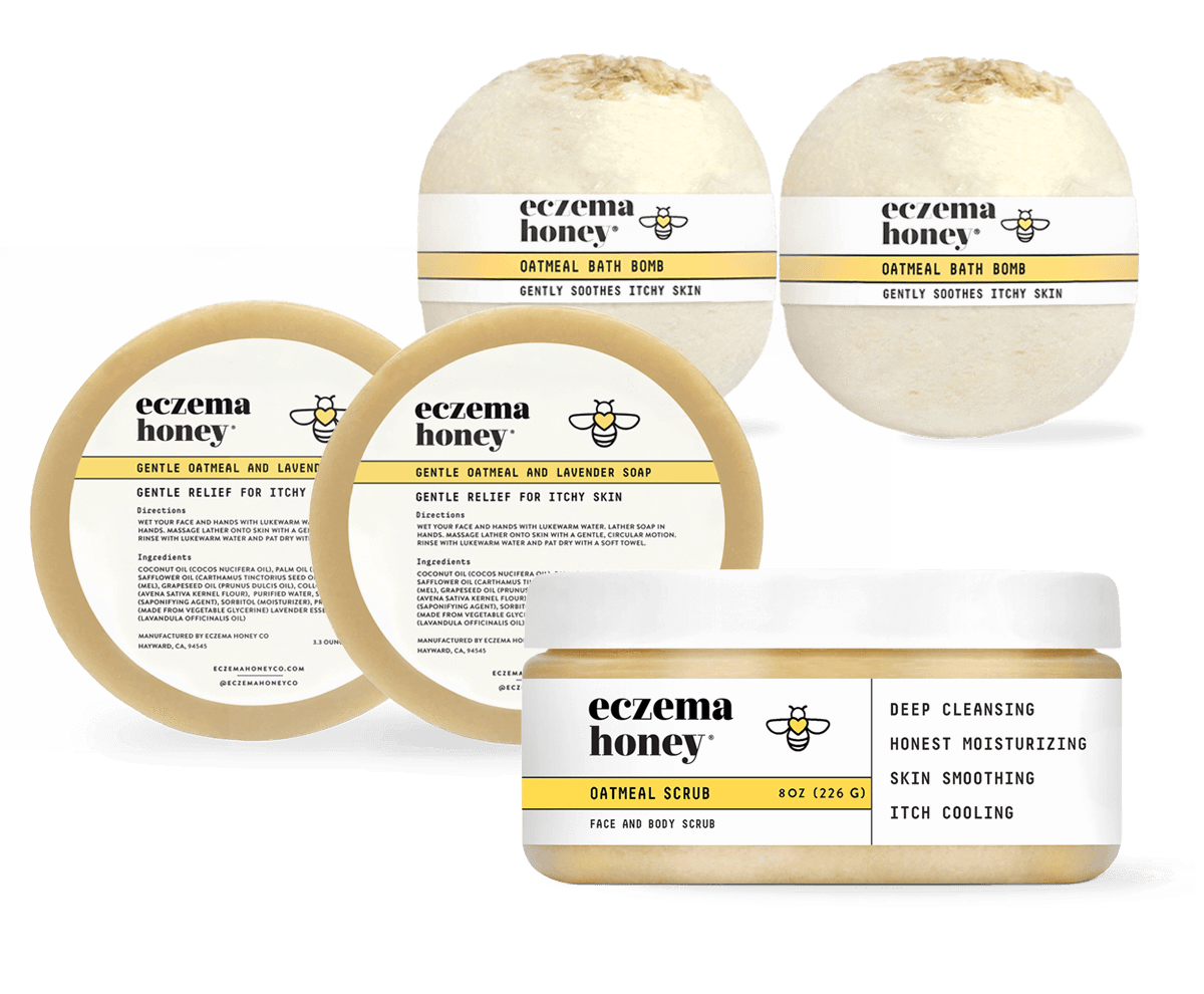 Eczema Honey Bath Bundle Set