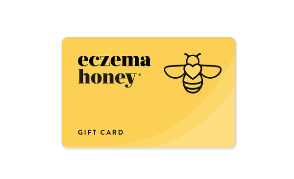 Eczema Honey Gift Card - Made With 100% Organic Pure Honey & Beeswax