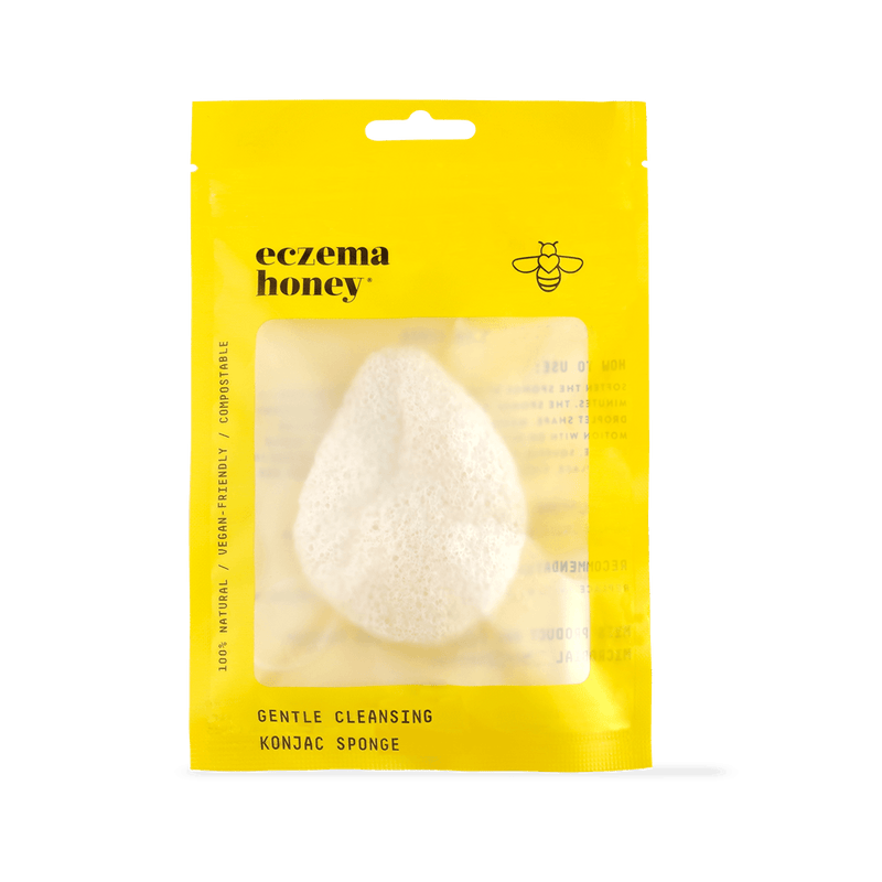 Eczema Honey Gentle Cleansing Konjac Sponge
