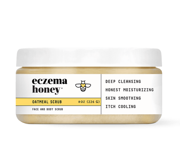 Eczema Honey Premium Oatmeal Scrub