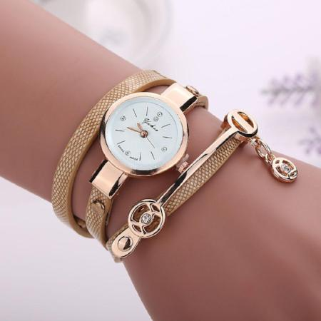 Womens Fashion Quartz Bracelet Watch
