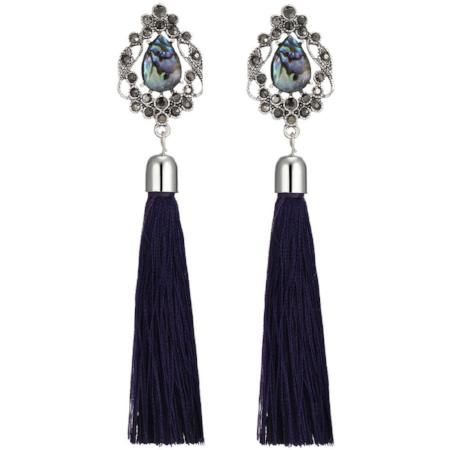 Bohemian Style Tassel Drop Earrings