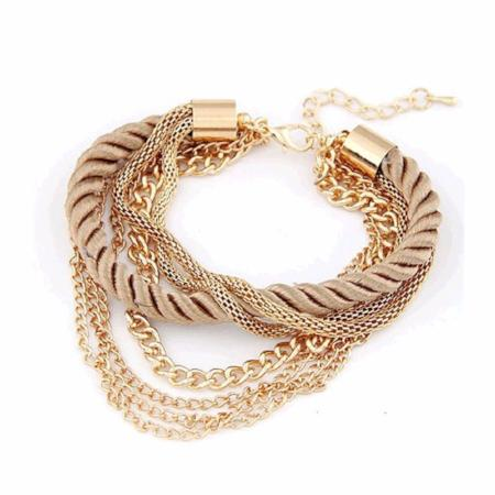 Women's Fashion Rope Bangle Bracelet