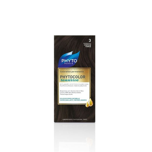 Phyto Phytocolor Sensitive 3 Dark Brown