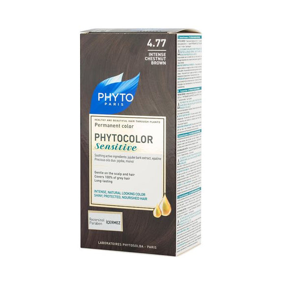 Phyto Phytocolor Sensitive 4.77 Intense Chesnut Brown