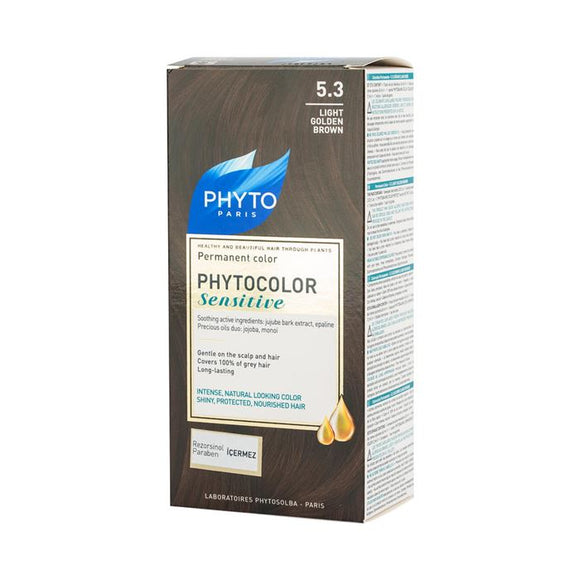 Phyto Phytocolor Sensitive 5.3 Light Golden Brown