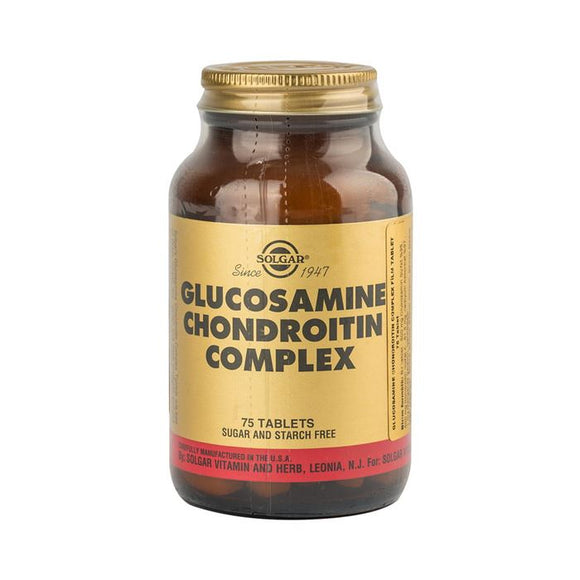 Solgar Glucosamine Chondroitin Complex 75 Tablet