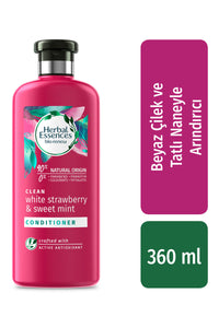 Herbal Essences Saç Kremi  Beyaz Çilek ve Tatlı Nane 360ml