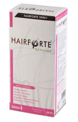 Hairforte Sprey 60 ml Bayan